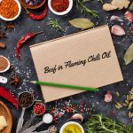 beef in flaming chili oil recipe